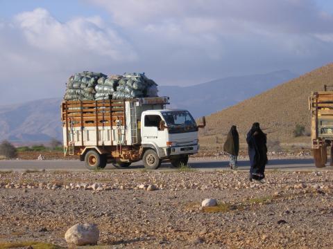 Charcoal Truck in Somalia